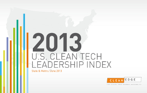 2013 U.S. Clean Tech Leadership Index